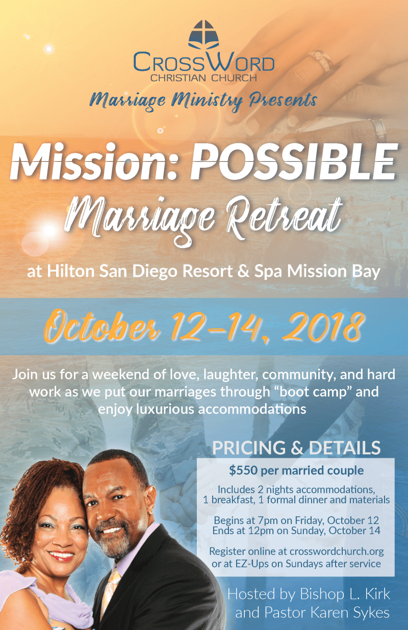 Mission: POSSIBLE - A Marriage Retreat