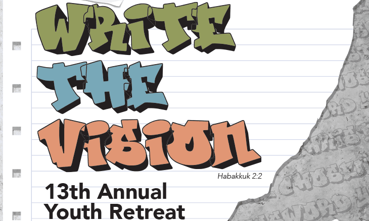 """High School Youth Retreat: """"Write the Vision"""""""